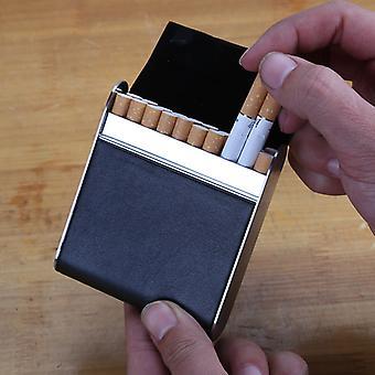 Leder 20-teilige Zigarettenetui Bankkarte Zigarettenetui Zigarettenetui Mini Aufbewahrungsbox