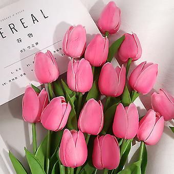 קישוט צבעוני פרח מלאכותי פרח מזויף