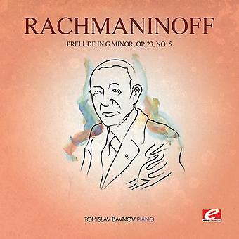 Rachmaninoff - Prelude in G Min 23 Op 5 USA import