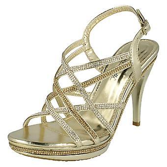 Ladies Anne Michelle High kallistuneen iltana sandaalit