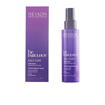Revlon være fabelagtig daglige pleje fint hår Volumen Spray 80 Ml Unisex