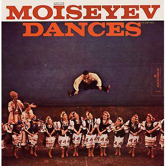 Moiseyev Dance Ensemble - Moiseyev Dance Ensemble: Vol. 2-Moiseyev Dances [CD] USA import