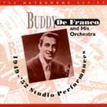 Buddy Defranco & His Orchestra - 1949-52 Studio Performances [CD] USA import