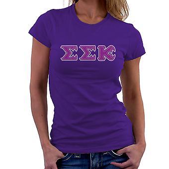 Monster University brorskap Slugma Slugma Kappa EEK Womens t-skjorte