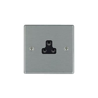 Hamilton Litestat Hartland Satin Stainless 1g 2A Unswitched Socket BL