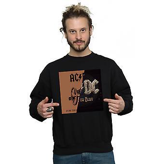 AC / DC الرجال & apos;ق صخرة أو تمثال نصفي / لأولئك حول قميص لصق