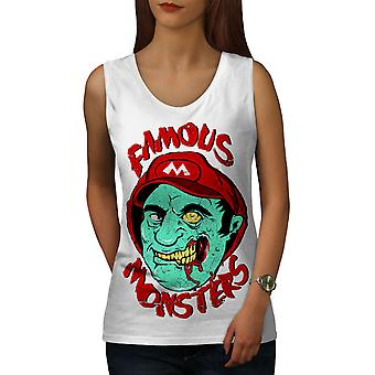 Mario Monster toten Frauen WhiteTank Top | Wellcoda