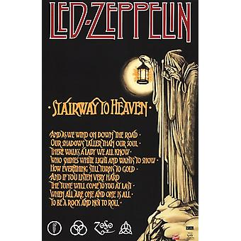 Led Zeppelin - Stairway to Heaven Poster Print