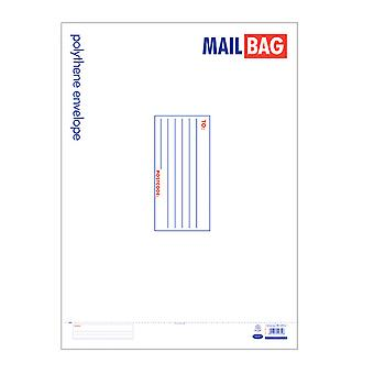 County Stationery Polythene Envelope Mail Bags (Pack Of 25)