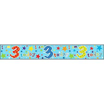 Simon Elvin I Am Various Ages Today Foil Birthday Banner