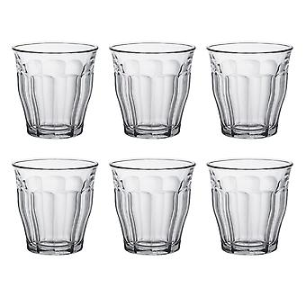 Duralex Set of 6 Picardie Tumblers, 25cl