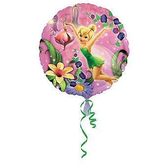 Amscan 18 Inch Disney Tinker Bell Circular Foil Balloon