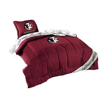 Officially Licensed FSU Florida Seminoles 7 Piece Full Size Comforter Set