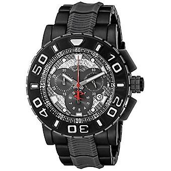 Invicta Men's 6315 Reserve Collection Chronograph Polyurethane and Stainless Steel Watch
