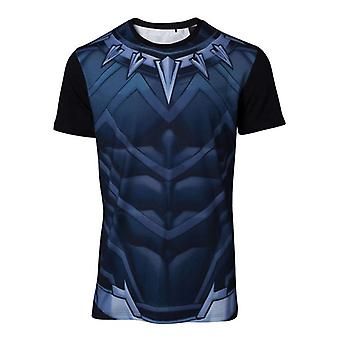 Black Panther Cosplay T-Shirt multicolor Large (TS764820MVL-L)
