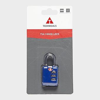 New Technicals Ttb Tsa Combi Lock Luggage Security Lock Blue