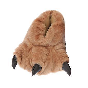 Childrens/Kids Monster Feet Design Indoor Slippers