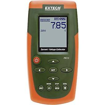 Extech PRC15 Calibrator Voltage, Amperage 6 x AA battery (included), PSU (included)