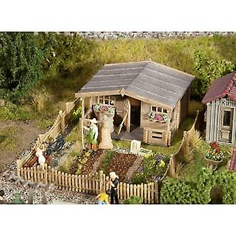 Faller 180493 H0 allotment with a large garden house Assembly kit