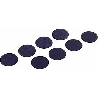 Fastech 685-010 Hook-and-loop stick-on dots stick-on Hook and loop pad (Ø) 19 mm White 4 pair