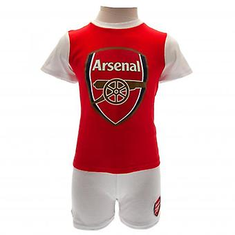 Arsenal T Shirt & Short Set 3-6 Months
