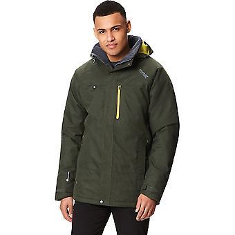 Regatta Mens Highside III Breathable Hooded Waterproof Coat Jacket