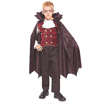 مصاص الدماء دراكولا عيد الهالوين Transylvanian العد الهوى اللباس زي الأولاد