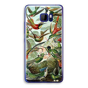 HTC U Ultra przezroczysty (Soft) - Haeckel Trochilidae