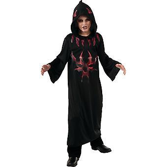Devil robe Devil costume Satan Devil Cape costume for children