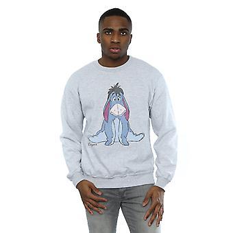 Disney Herren Winnie The Pooh klassische Eeyore Sweatshirt