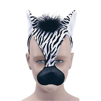 Zebra Mask & Sound.
