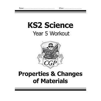 KS2 Vitenskap årets fem Workout - egenskaper & endringer av materialer av C