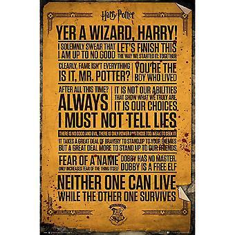 هاري بوتر ونقلت ملصق