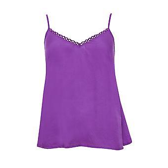 Cyberjammies 4099 Women's Andrea Purple Pyjama Top