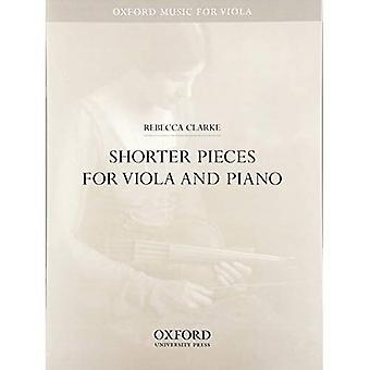 Mais curtas peças para viola e piano