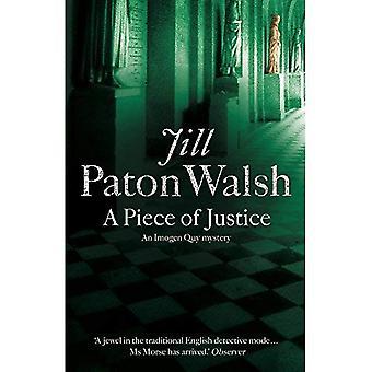 Een stuk van Justitie (Imogen Quy mysterie 2)