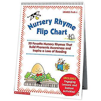 Nursery Rhyme Flip-overbord: 20 favoriete kinderliedjes die bouwen fonemisch bewustzijn en een liefde voor lezing te inspireren