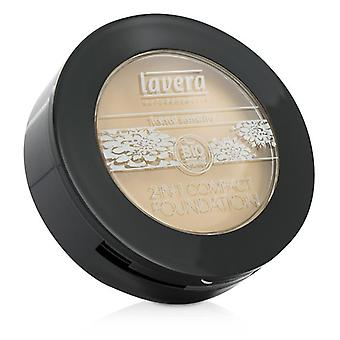 Lavera 2 In 1 Compact Foundation - # 01 Ivory - 10g/0.3oz