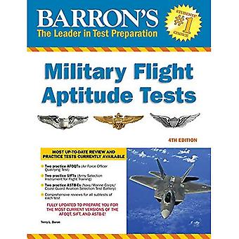 Barron's Military Flight Aptitude Tests, 4th Edition