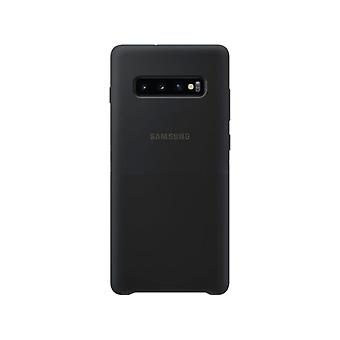 Samsung silicone cover black for Samsung Galaxy S10 plus G975F EF-PG975T bag case protective cover