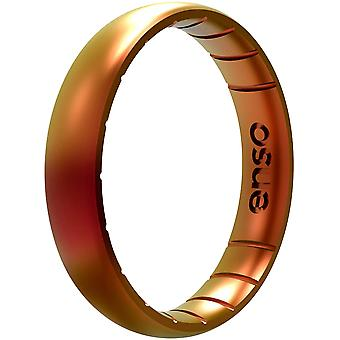 Enso Rings Thin Legends Series Silicone Ring - Poseidon