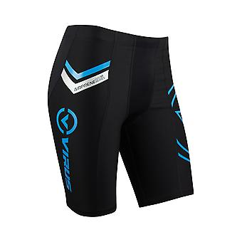 Virus Herre H201 Airprene komprimering V2 Tech Shorts - sort/blå
