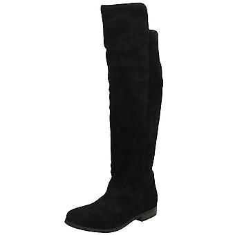 Ladies Leather Collection Knee High Boots
