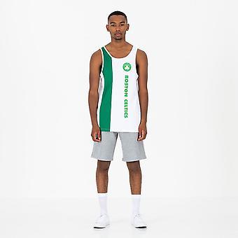 Ny æra NBA Wordmark Tank T-Shirt ~ Boston Celtics