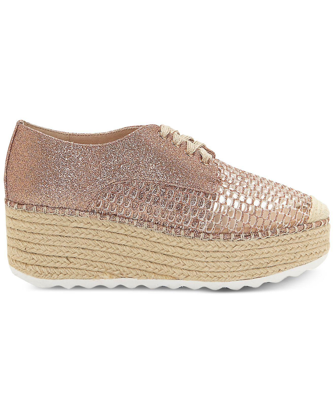 INC International Concepts Womens Abrelia Fabric Low Top Lace Up Fashion Snea...