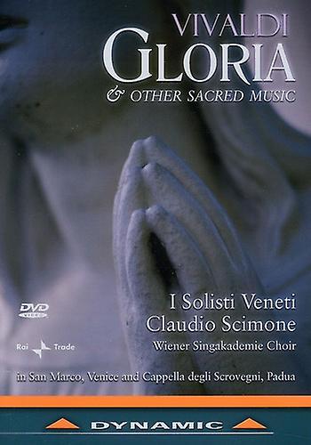 A. Vivaldi - Gloria & Other Sacred Works [DVD] USA import
