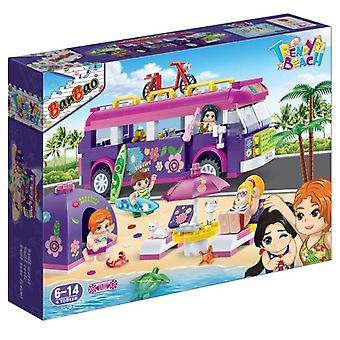 BanBao Verzahnung Blöcke trendige Beach-Party 6123 (375 PS)