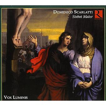 Scarlatti / Vox Luminis Ensemble - Domenico Scarlatti: Stabat Mater [CD] USA import