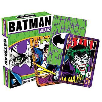 DC Comics Batman Villains peli kortit