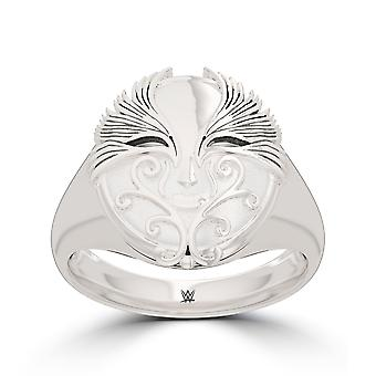 Asuka ring in Sterling Zilver ontwerp door BIXLER